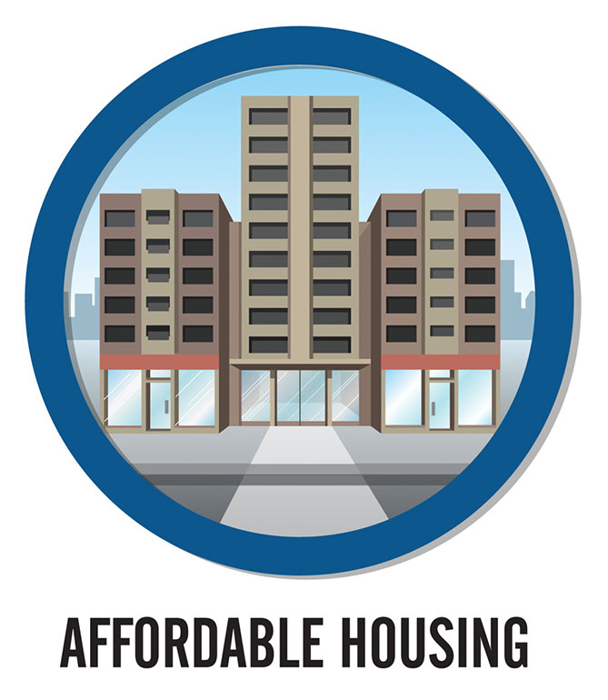 affordable housing.