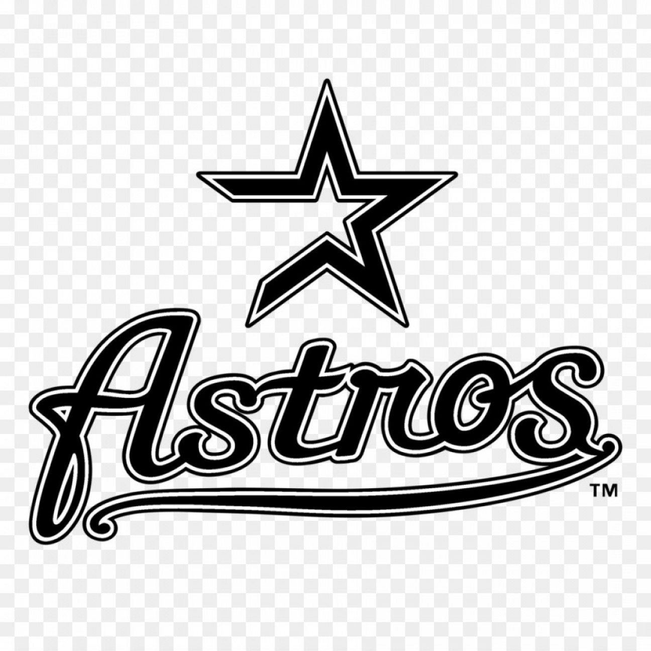 Png Houston Astros Logo Mlb Decal Houston Astros Log.