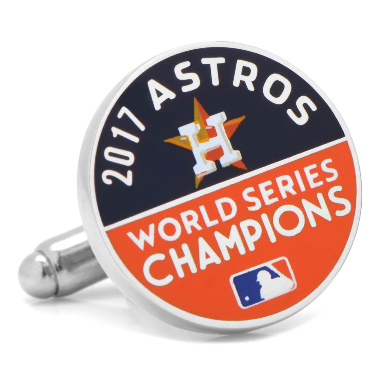 Houston Astros 2017 World Series Champions Cufflinks.