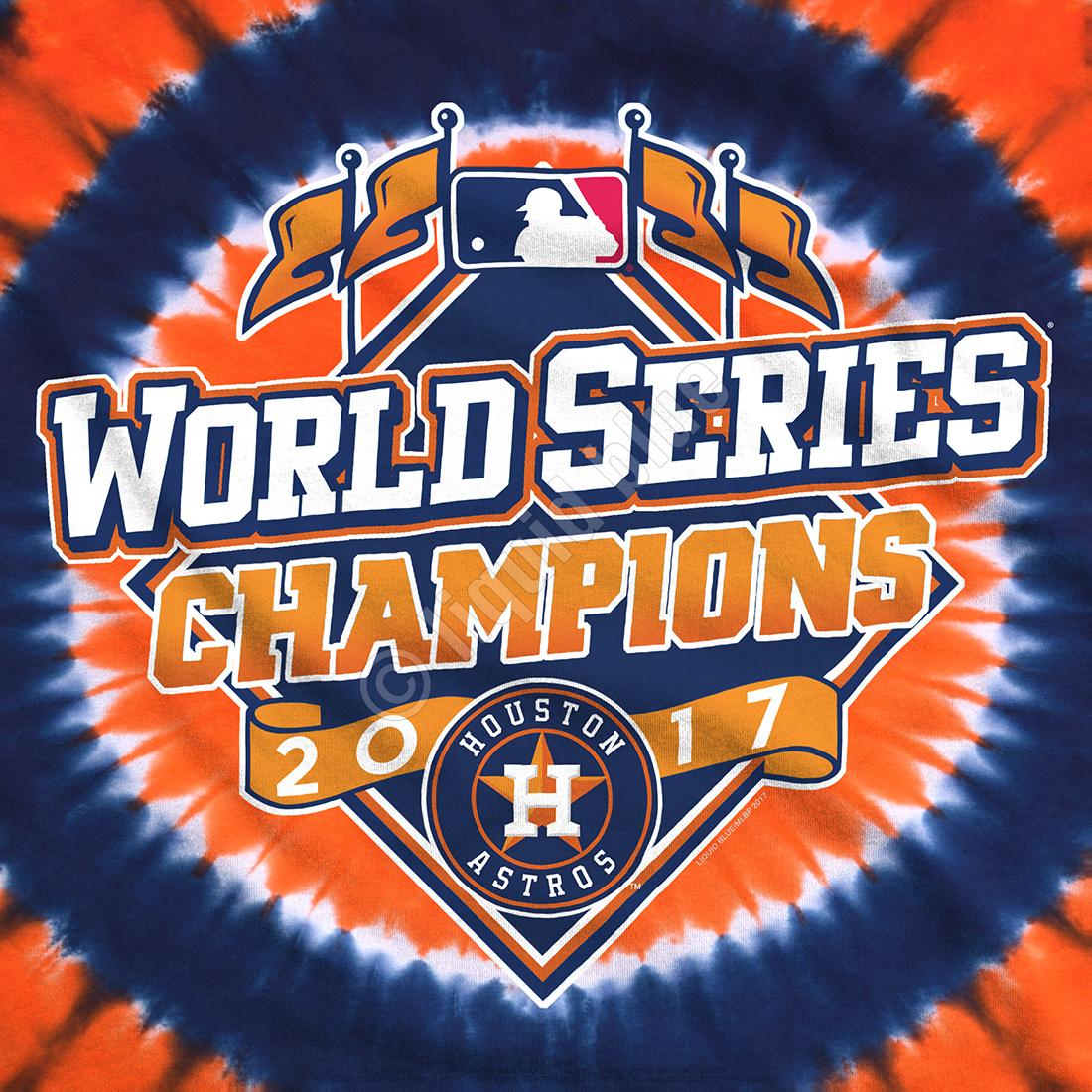 Houston Astros World Series Champions Logo Tie.