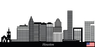 Houston Skyline Stock Illustrations.
