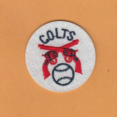 RARE ORIGINAL 1962 OLD HOUSTON COLT 45s COLTS 2 inch PATCH Unsold Stock  ASTROS.