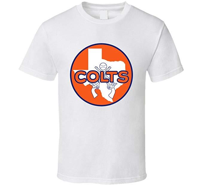 Houston Colt 45s Alternate Logo Baseball T Shirt.