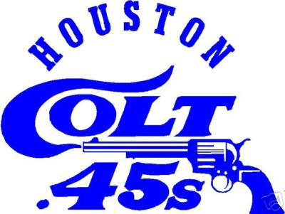 The Houston Colt .45s Baseball Club 1962.