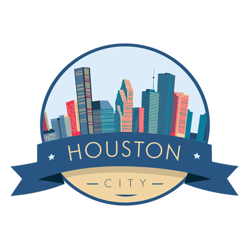 Houston Skyline Logo.