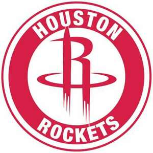 Details about Houston Rockets Circle Logo Vinyl Decal / Sticker 10 sizes!!.