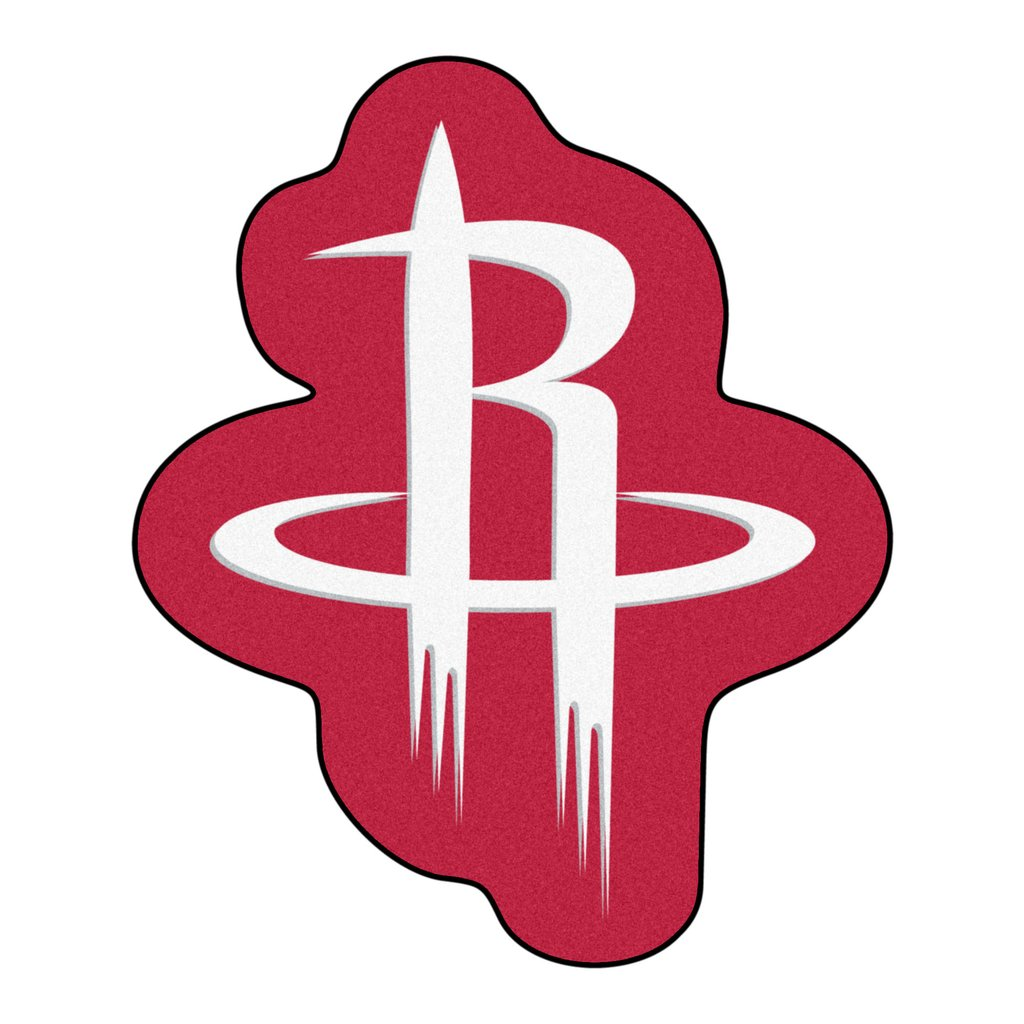 Houston Rockets Mascot Logo Mat.