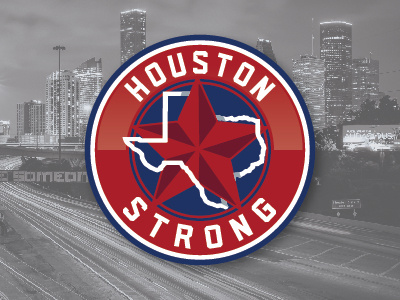 Houston Strong Logo by Andrew Craig on Dribbble.