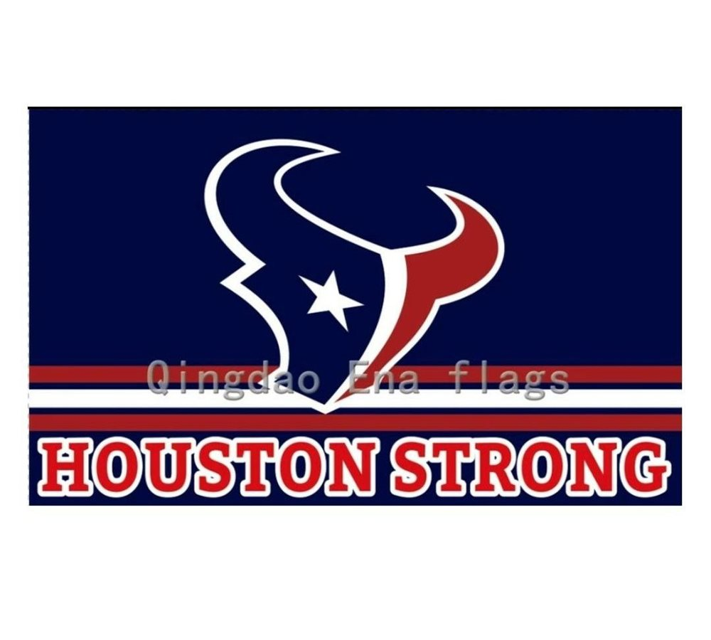 Houston Texans Flag, Banner, Houston Strong, 3X5 Ft.