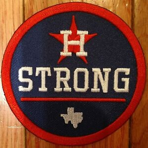 Details about 2017 Houston Strong Jersey Patch.