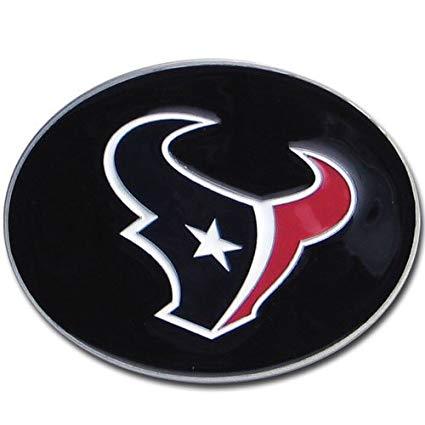 NFL Houston Texans Logo Buckle.