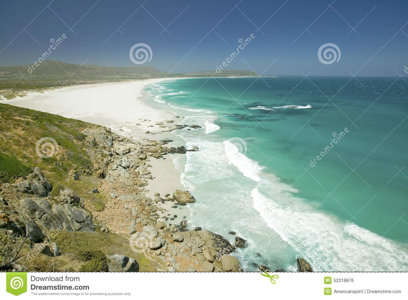 North Of Hout Bay, Southern Cape Peninsula, Outside Of Cape Town.