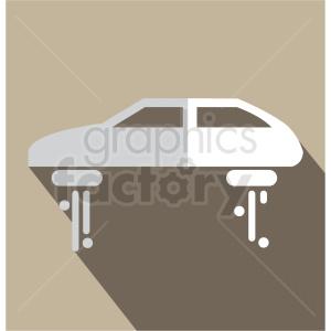 hover car vector icon clip art . Royalty.