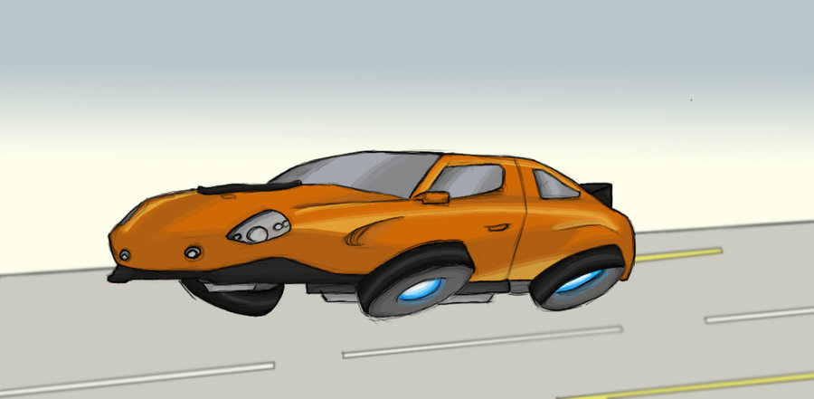 Showing post & media for Cartoon hover car.