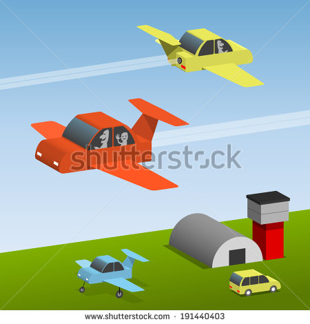 Showing post & media for Cartoon hovering car.