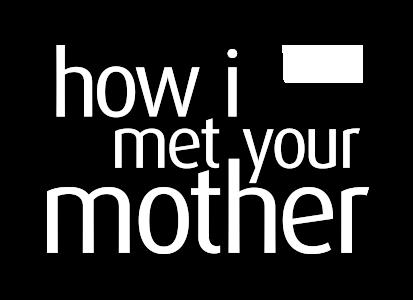 How I Met Your Mother Logo.