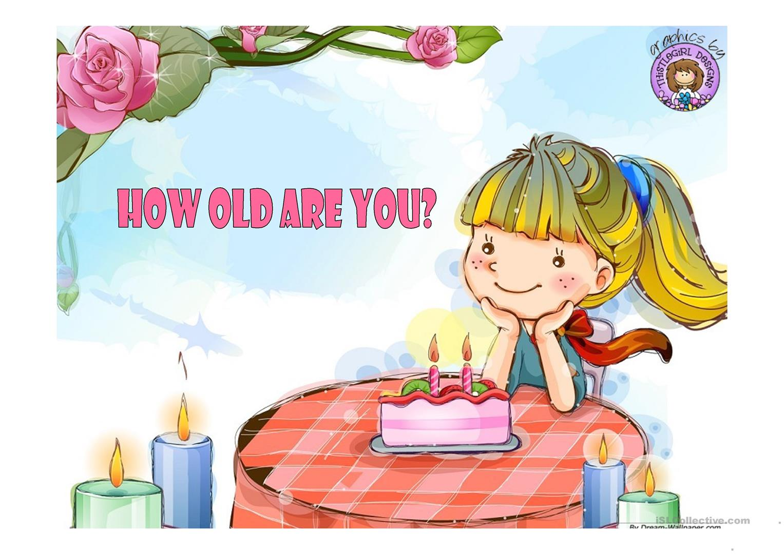 How old are you clipart 5 » Clipart Station.