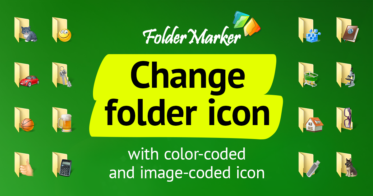 Change folder clipart windows 10.