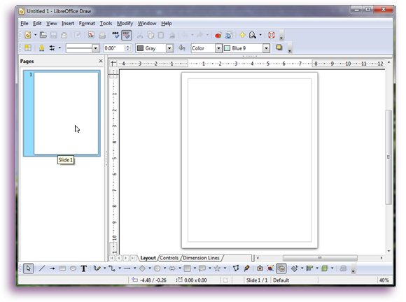 LibreOffice Draw Tutorial #2.