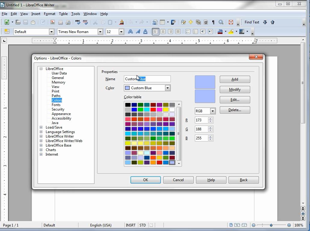 LibreOffice: Writer.