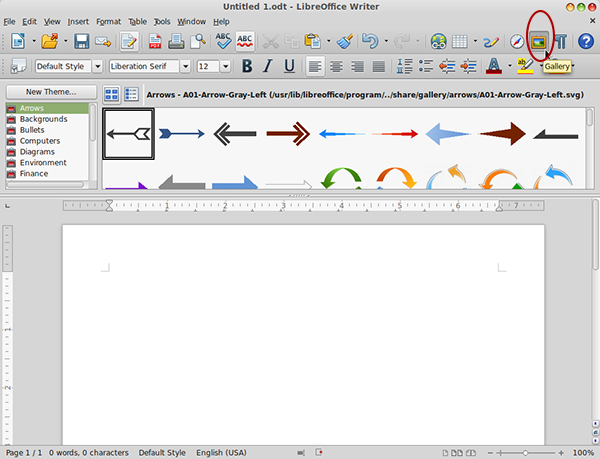 Getting Started With LibreOffice Writer.