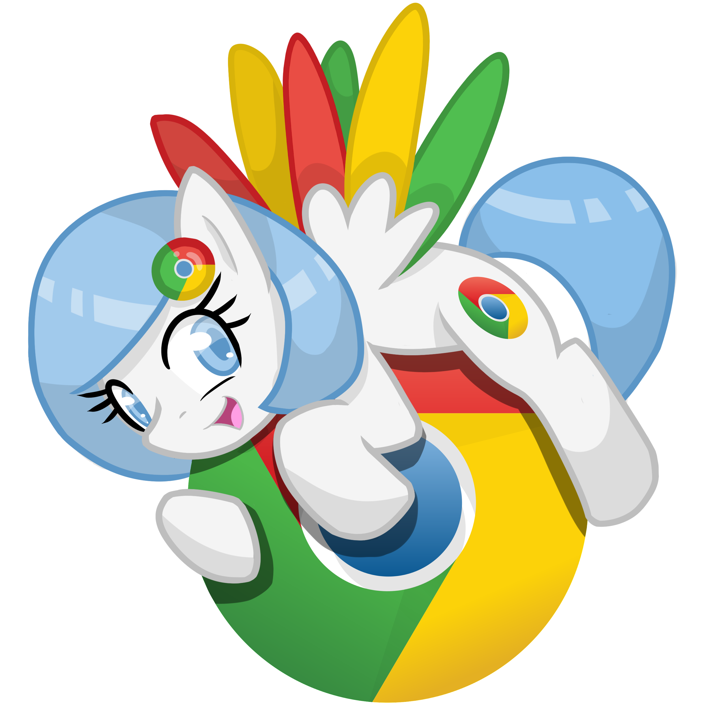 chromepony (google chrome icon) by EDplus on DeviantArt.