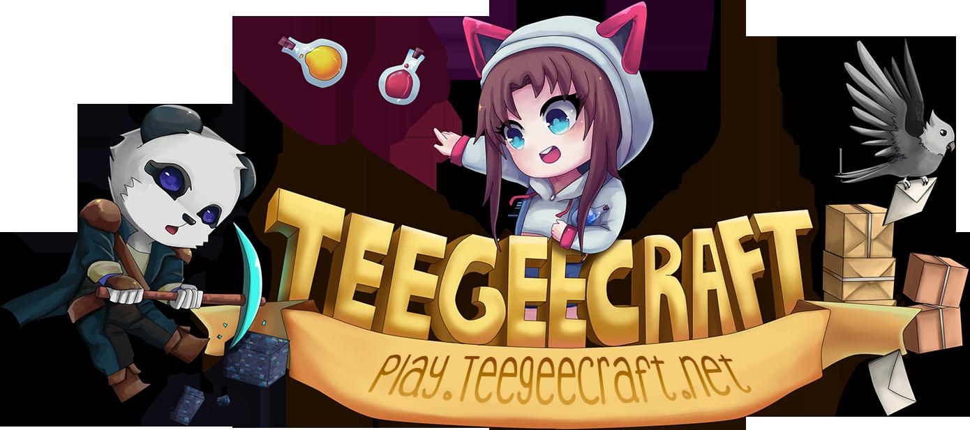 TeegeeCraft Minecraft Server.