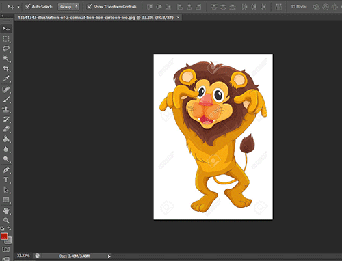 How To Create Clipart In Photoshop ? • Techs Text.