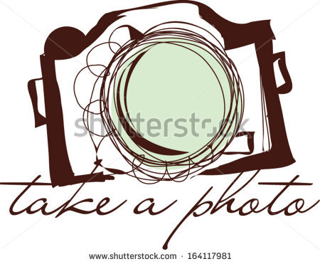 Hand Drawn Doodle Digital Camera Illustration Stock Vector.