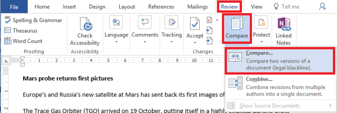 How to Merge Multiple Word Documents in Microsoft Office 2016.
