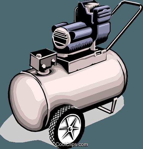 Air Compressor Clipart.