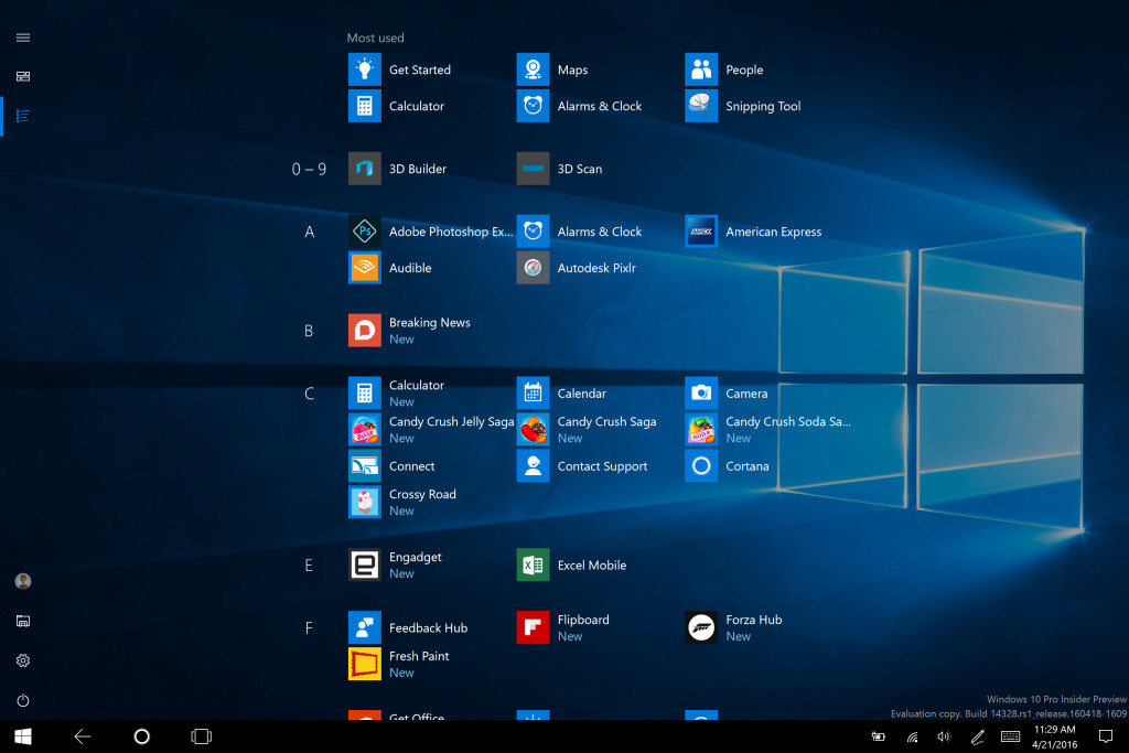 Microsoft releases Windows 10 14328 for PC and Mobile to the Fast.