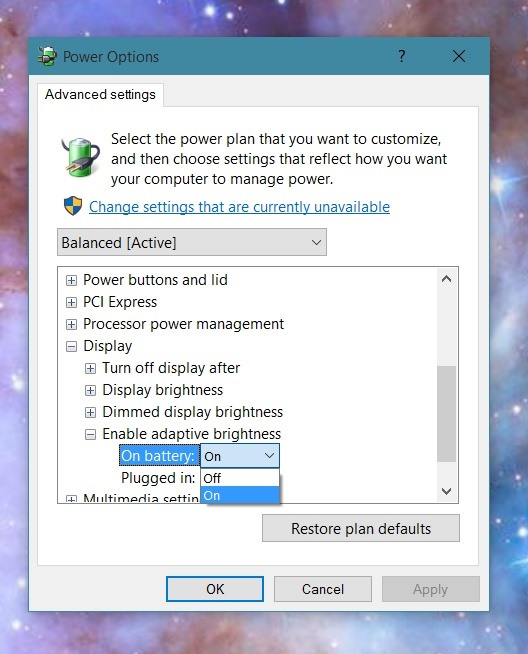 How to Disable Adaptive Brightness on Windows 10 for Maximum.