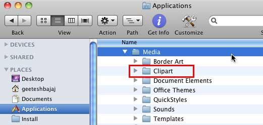 Customize Clip Art Categories within Media Browser in PowerPoint.