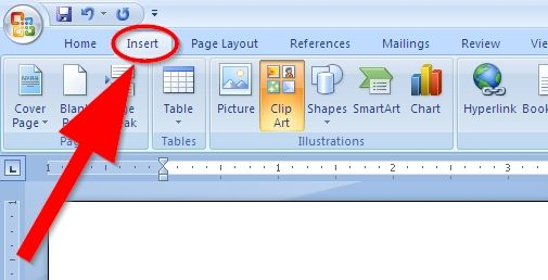 How To Get Clipart On Word.