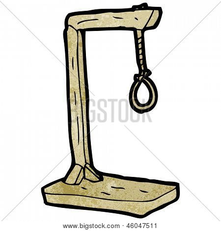 cartoon hanging noose Stock Photo & Stock Images.