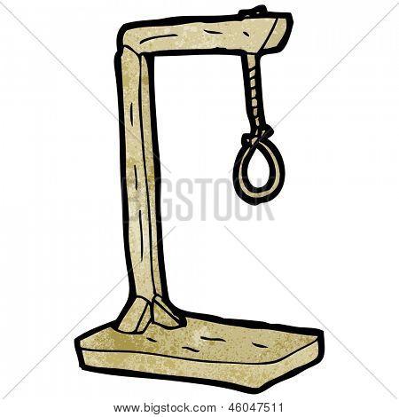 cartoon hanging noose Stock Photo & Stock Images.