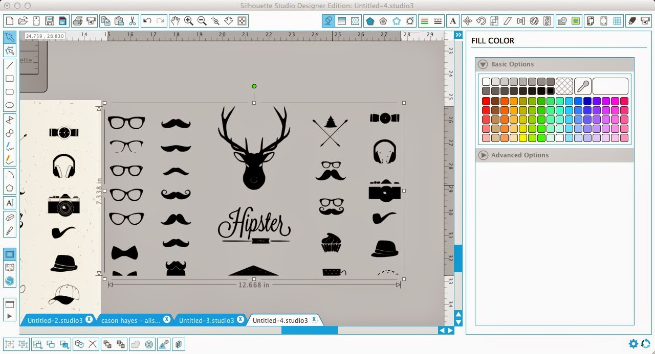How to Use Downloaded Vector Graphics in Silhouette Studio.