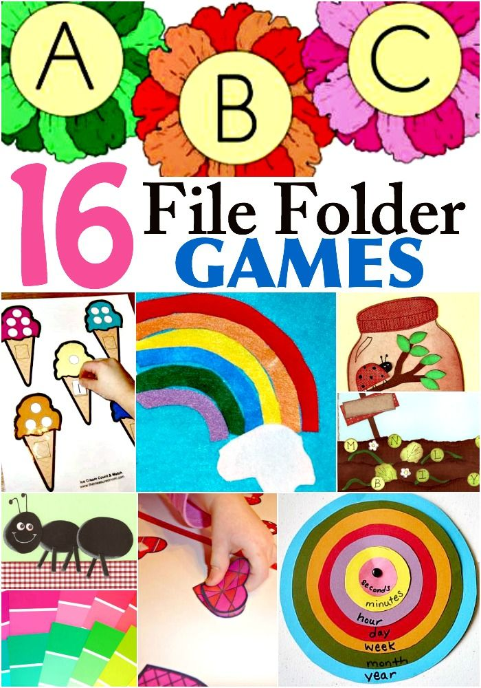 17 Best images about File Folder Activities for Preschool on.