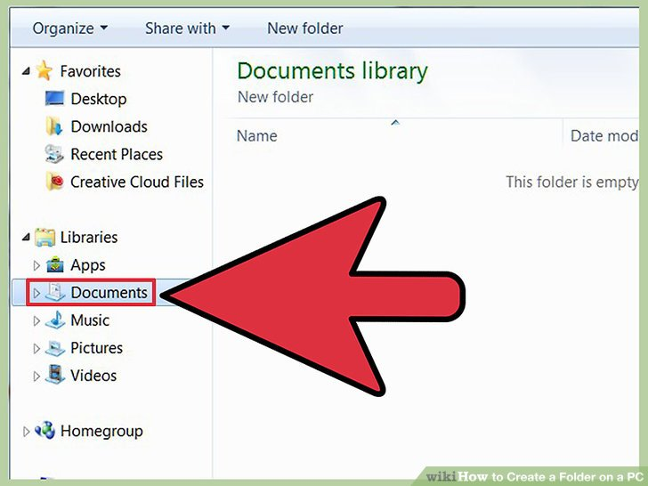 How to Create a Folder on a PC: 9 Steps (with Pictures).