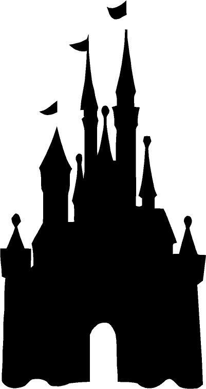Walt Disney World Castle Clipart Silhouette Clipground