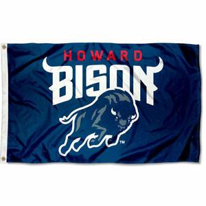 Details about Howard University Bison New Logo NCAA Flag Tailgating Banner.