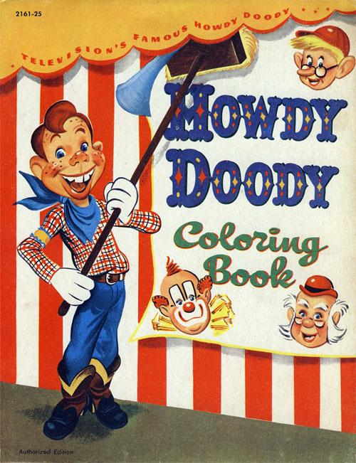 Howdy Doody Coloring Books: RetroReprints.
