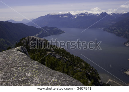 Howe Sound Stock Photos, Royalty.