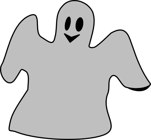 Clipart Of Ghost, Must And However , Transparent Cartoon.