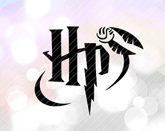 Harry Potter Cut File SVG DXF Jpg Png Eps Vector Format Files.