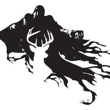 hogwarts silhouette.