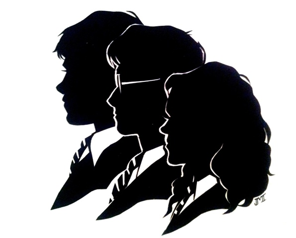25+ best ideas about Harry Potter Silhouette on Pinterest.