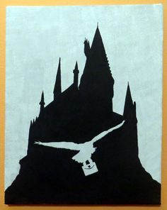 Hogwarts castle Let the magic begin Clipart by CreationTreasure.
