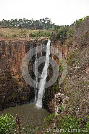 Howick Waterfall Stock Photo.